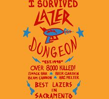 I Survived Lazer Dungeon Unisex T-Shirt