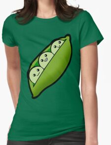 Like Peas in a Pod Womens Fitted T-Shirt