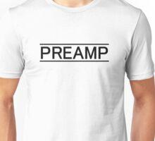 Preamp black Unisex T-Shirt