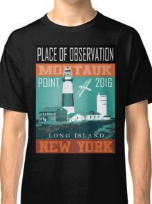 montauk place of light Classic T-Shirt