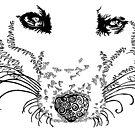 FOX BLACK T SHIRT by Sally Barnett
