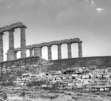Greek Temple in HDR by Vicki Spindler (VHS Photography)