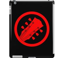Guitar player red iPad Case/Skin