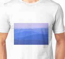 Blue Ridge Mountains Unisex T-Shirt