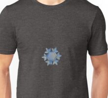 Snowflake photo - Sunflower, golden version Unisex T-Shirt