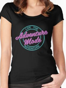 Neon Women's Fitted Scoop T-Shirt