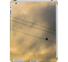 Out On a Wire iPad Case/Skin