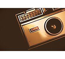 Instamatic Camera Zoom Photographic Print
