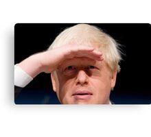 Boris Johnson Canvas Print
