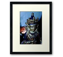 Dharma Light. Framed Print