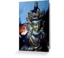 Dharma Light. Greeting Card
