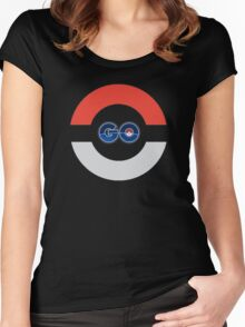 Pokemon Go Design Women's Fitted Scoop T-Shirt