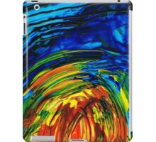 Colorful Abstract Art - Energy Flow 6 - By Sharon Cummings iPad Case/Skin