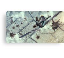 Airraid Canvas Print