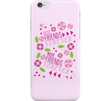 BFF best friends forever pattern iPhone Case/Skin