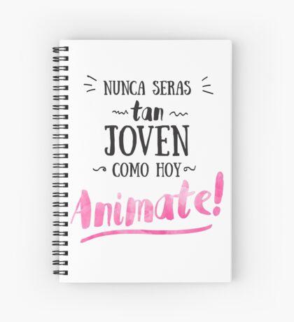 Animate Spiral Notebook