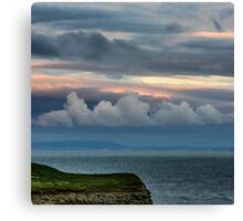 The Evening Sky Canvas Print