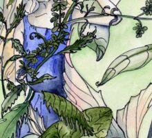 Faeries in the garden Sticker