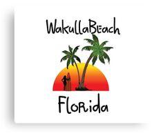 Wakulla Beach Florida. Canvas Print