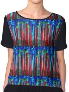 Palm Springs Nocturne original painting Chiffon Top