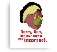A Fish Called Wanda - Sorry, Ken Canvas Print