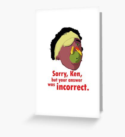A Fish Called Wanda - Sorry, Ken Greeting Card