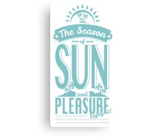 Season of Sun and Pleasure Canvas Print