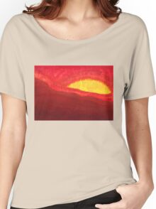 Wildfire Eye original painting Women's Relaxed Fit T-Shirt