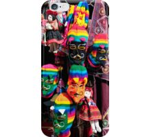 Ollantaytambo Masks iPhone Case/Skin