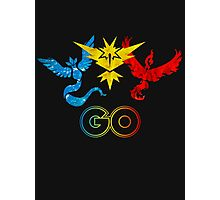 Pokemon Go - United Teams Photographic Print
