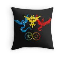 Pokemon Go - United Teams Throw Pillow