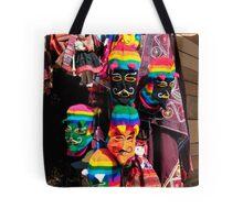 Ollantaytambo Masks Tote Bag
