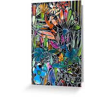 Psychedelic Potpourri - Kerry Beazley Greeting Card