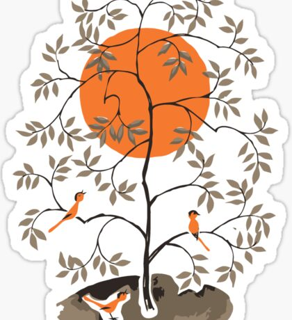 Zen Tree Sticker
