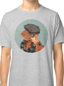 Elegant Mr. Dachshund Classic T-Shirt