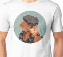 Elegant Mr. Dachshund Unisex T-Shirt