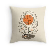 Zen Tree Throw Pillow