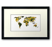 Rudbeckia World Framed Print