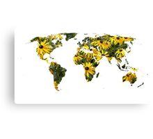 Rudbeckia World Canvas Print