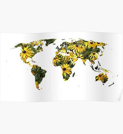 Rudbeckia World Poster
