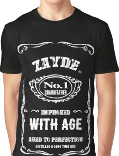 Vintage Zayde Hebrew Jewish Grandfather Graphic T-Shirt