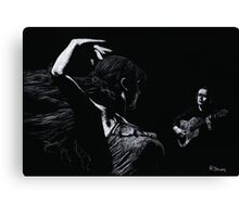 Flamenco Recital Canvas Print
