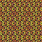 Mud Cloth Style 100215(2) - Amber and Orange by Artberry