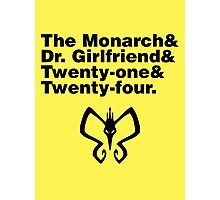 Team Monarch Photographic Print