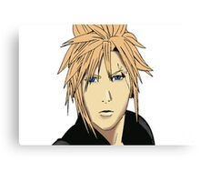 Cloud Strife Drawing Canvas Print