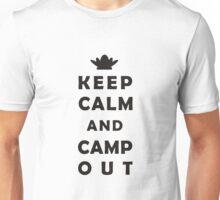 Keep calm camping Unisex T-Shirt