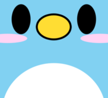 Blue Penguin Sticker