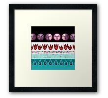basic rhythm Framed Print