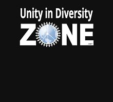 Unity in Diversity ZONE -- black t-shirt Unisex T-Shirt
