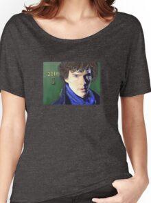 Benedict Cumberbatch as Sherlock Design 2 Women's Relaxed Fit T-Shirt